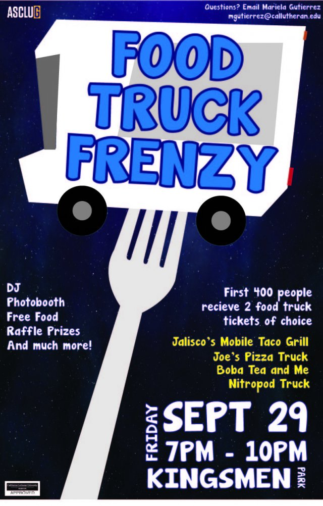 ASCLUG Presents: Food Truck Frenzy