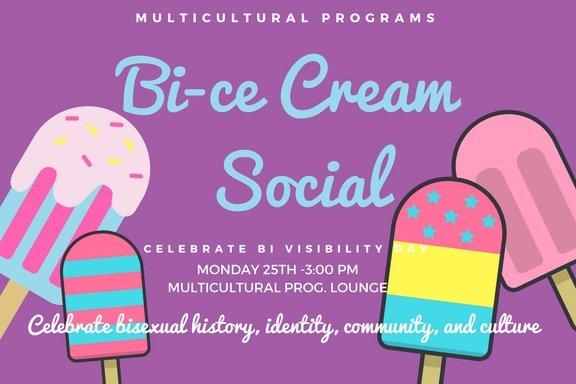 Bi-ce Cream Social