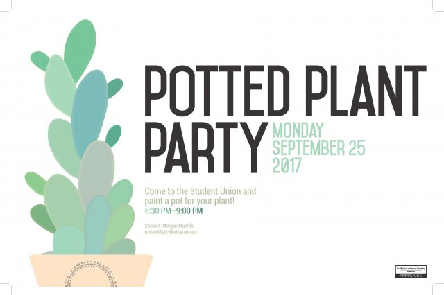 Potted Plant Party