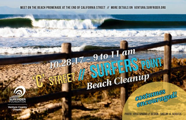 Ventura Surfrider Chapter Beach Cleanup