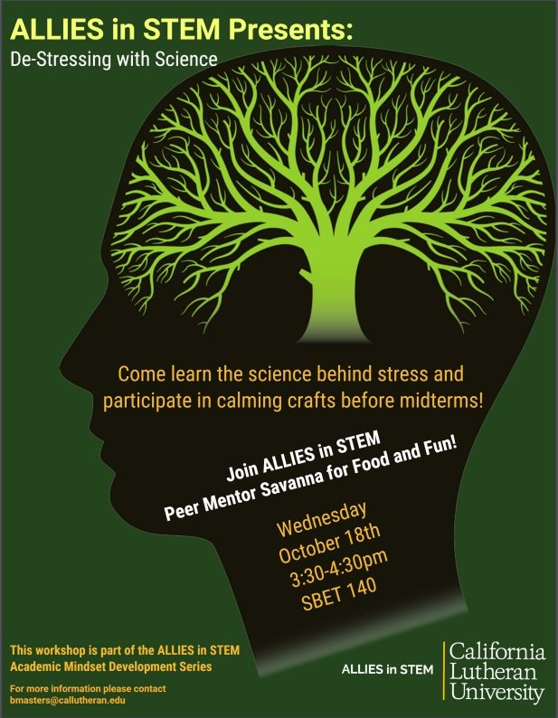 ALLIES in STEM Presents: De-Stressing with Science!