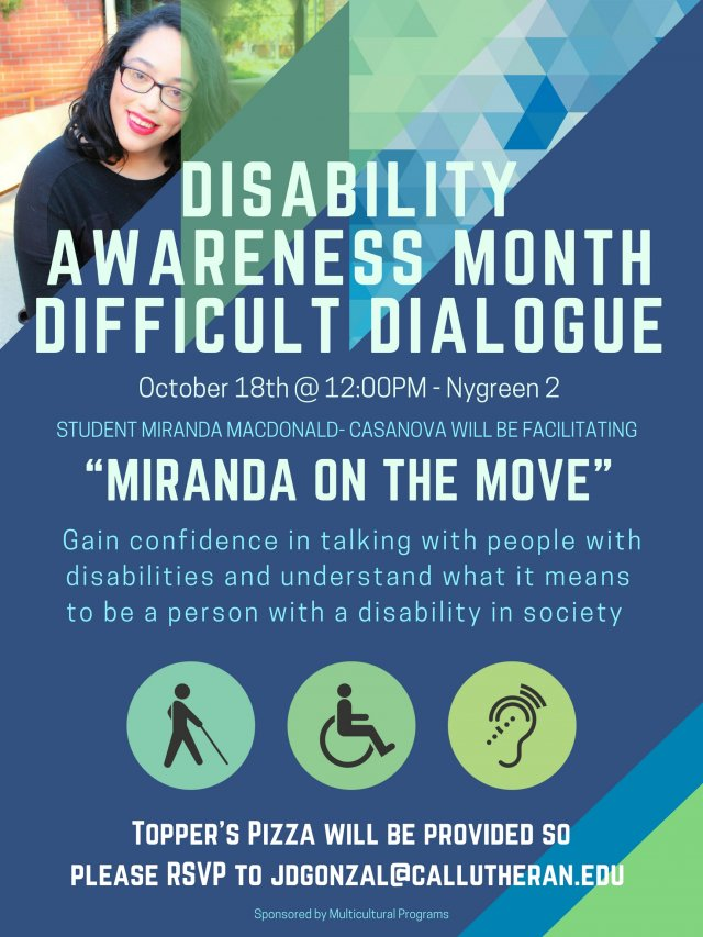 Disability Awareness Month Difficulty Dialogue