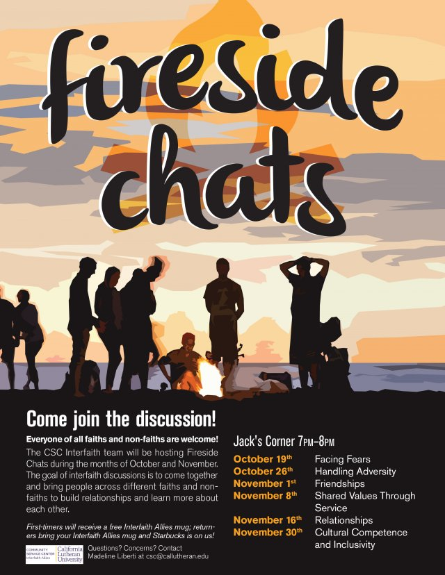 Fireside Chats: Facing Fears