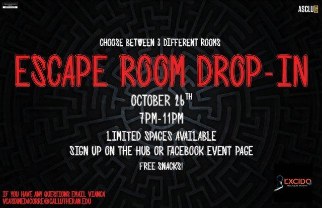 ASCLUG Presents: Escape Room Drop-In