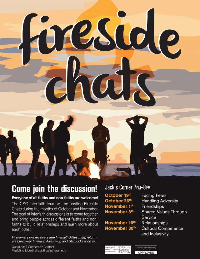 Fireside Chats: Shared Values Through Service