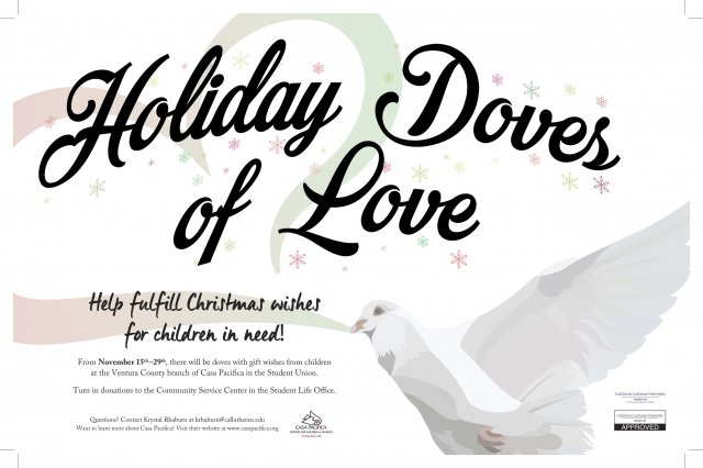 Holiday Doves of Love