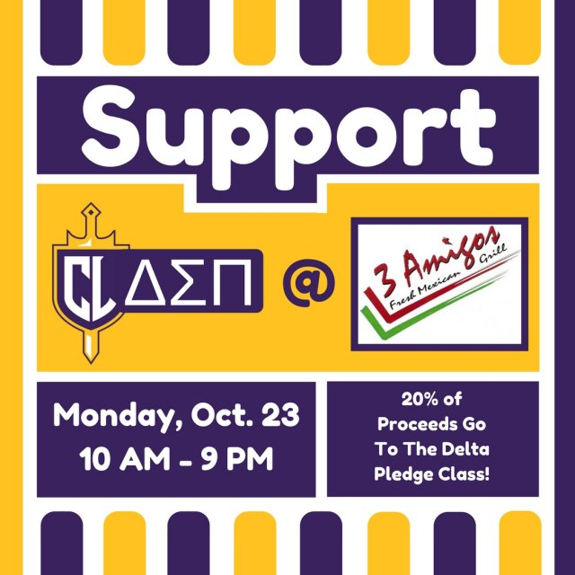 Support DSP at 3 Amigos!