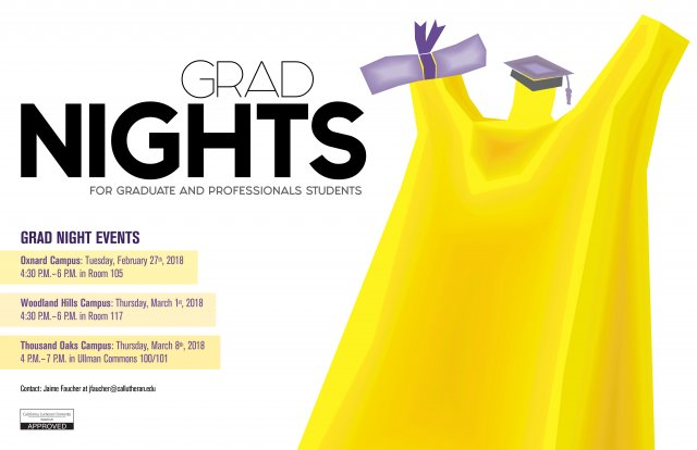 Grad Nights- Woodland Hills Campus