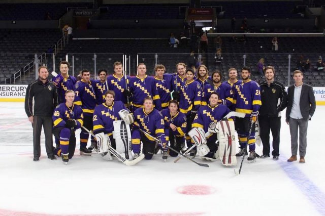 CLU Knights Ice Hockey Club vs. Occidental