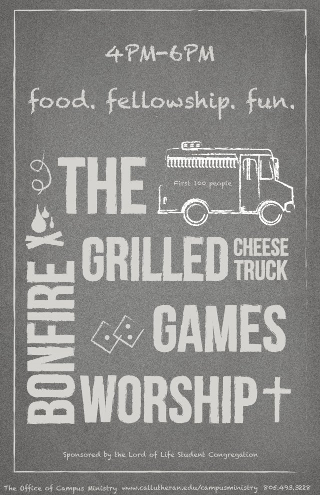 Grilled Cheese Food Truck Worship
