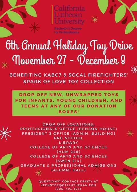 Professionals' Spark of Love Toy Drive