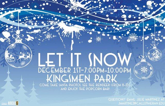 ASCLUG Presents: Let it Snow