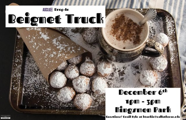 ASCLUG Presents: Beignet Food Truck Drop In
