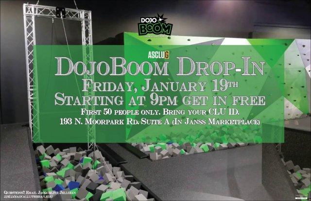 ASCLUG Presents: DojoBoom Drop-In