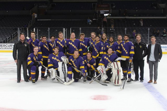 CLU Knights Ice Hockey Club vs. SRJC