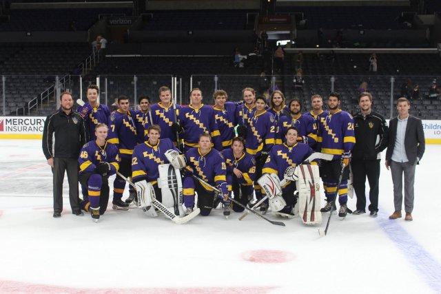 CLU Knights Ice Hockey Club vs. UCSC