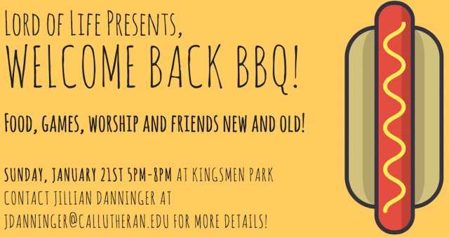 Welcome Back BBQ!