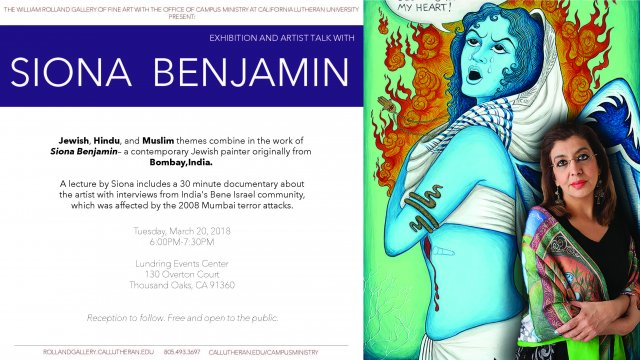 Exhibition and Artist Talk with Siona Benjamin