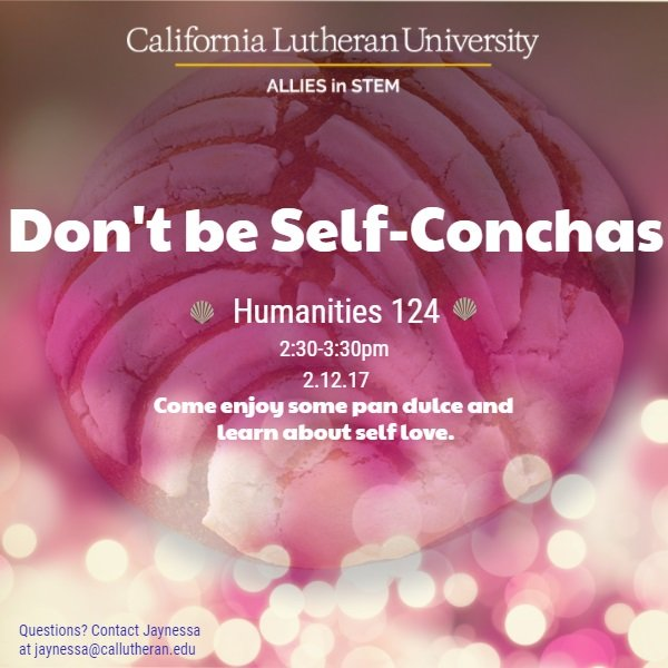 Don't Be Self- Conchas