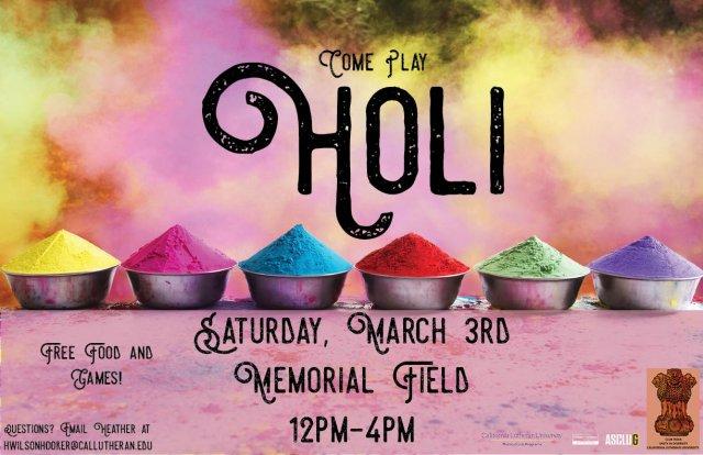 ASCLUG Presents: Holi Color Festival