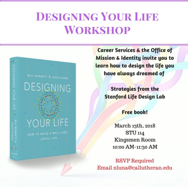 Designing Your Life Workshop