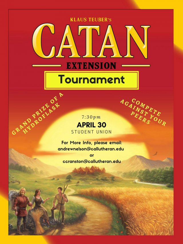 Settlers of Catan Tournament