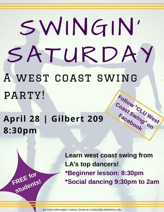 Swingin' Saturday!