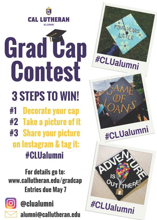 Cal Lutheran Alumni Grad Cap Contest
