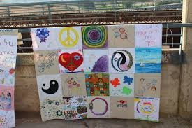 Piece for Peace Quilt Decorating