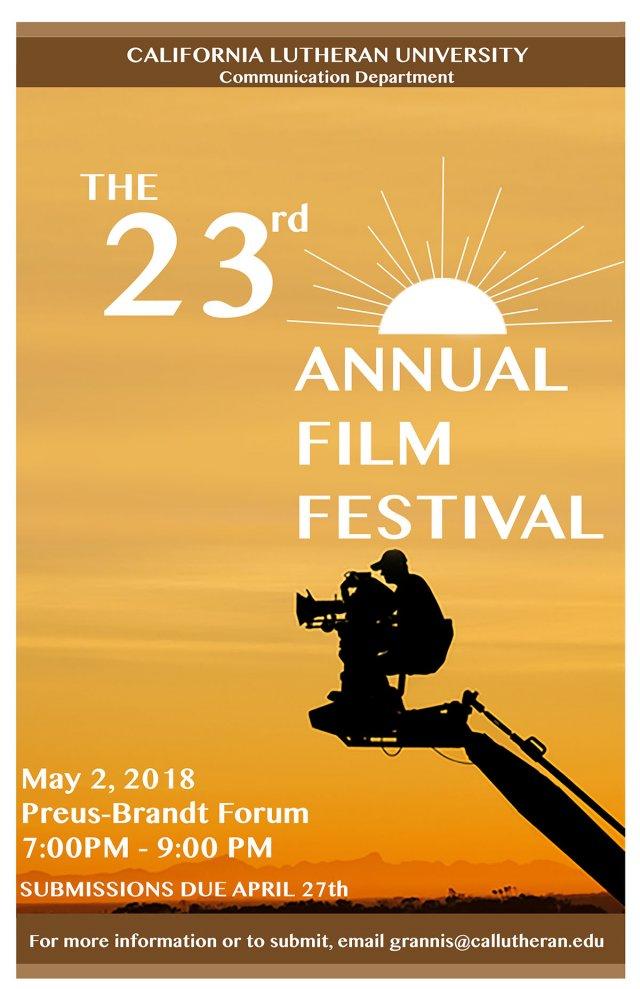 23rd Annual Student Film Festival