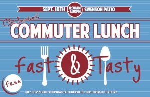 Get Involved: Commuter Lunch