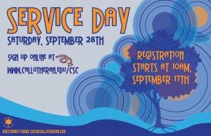 Service Day- Registration Open!