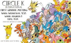 Circle K 1st General Meeting