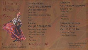 Hispanic Heritage Week: Fiesta