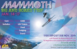 Mammoth Ski and Board Trip