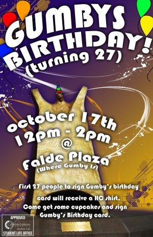 Gumby's Birthday