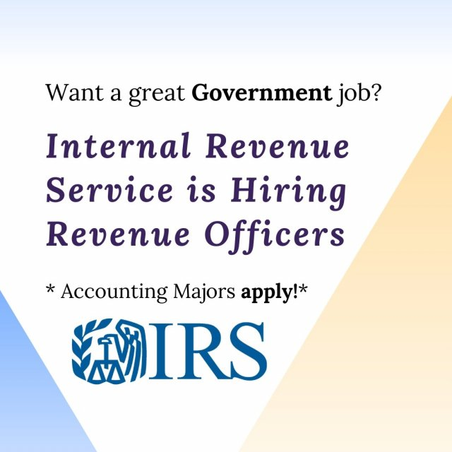 Recruiting on campus: Internal Revenue Service (IRS)