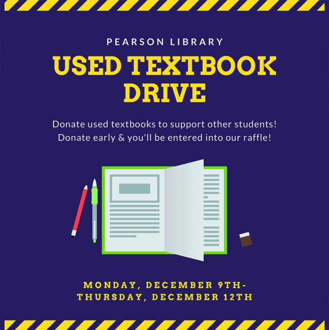 Used Textbook Drive