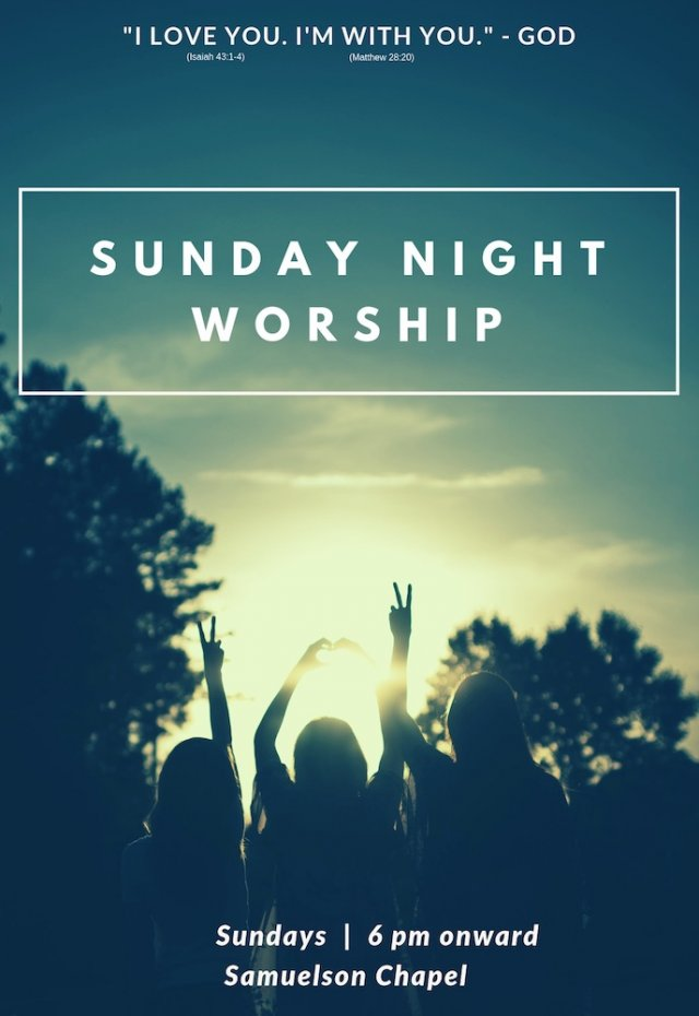 Student Church (aka Lord of Life; aka Sunday Night Worship)