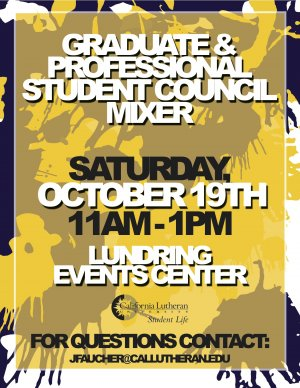 Graduate and Professional Student Council Mixer