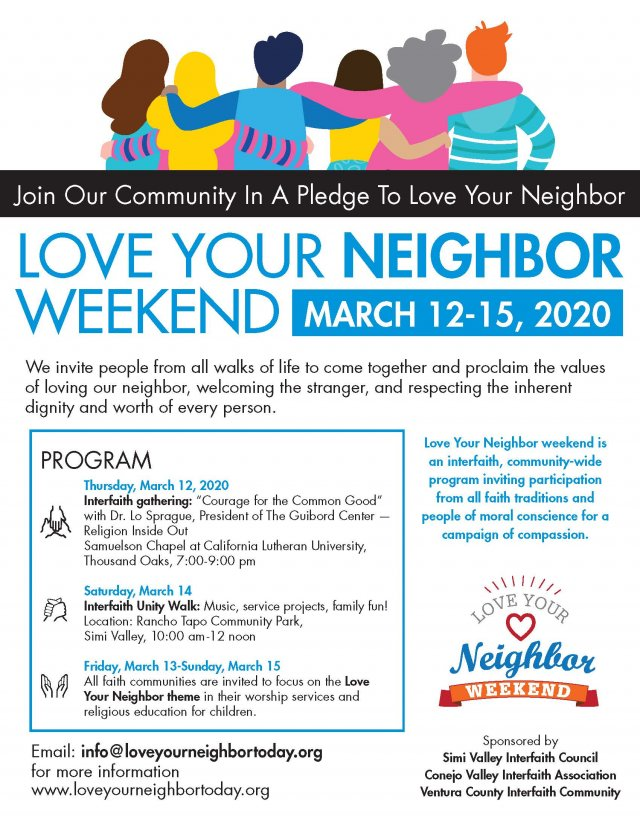 Love Your Neighbor Interfaith Gathering