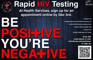 World Aids Day: Free HIV Testing