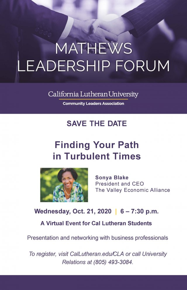 Mathews Leadership Forum