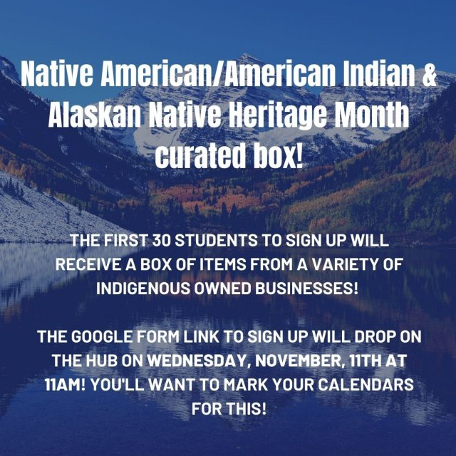 Native American/American Indian & Alaskan Native Heritage Month Curated Boxes!