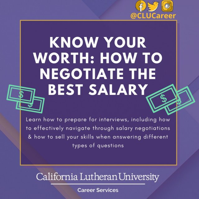 Know Your Worth: How to Negotiate the Best Salary