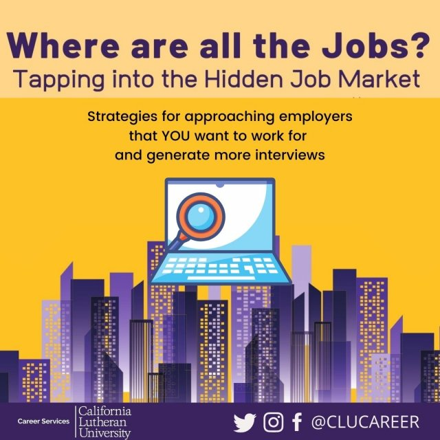 Where are all the Jobs?  Tapping into the Hidden Job Market
