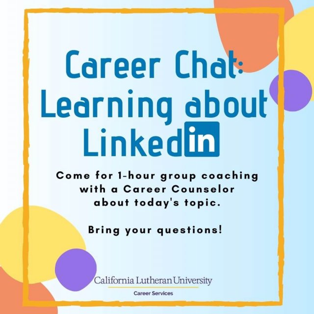 Career Chat: Learning about LinkedIn