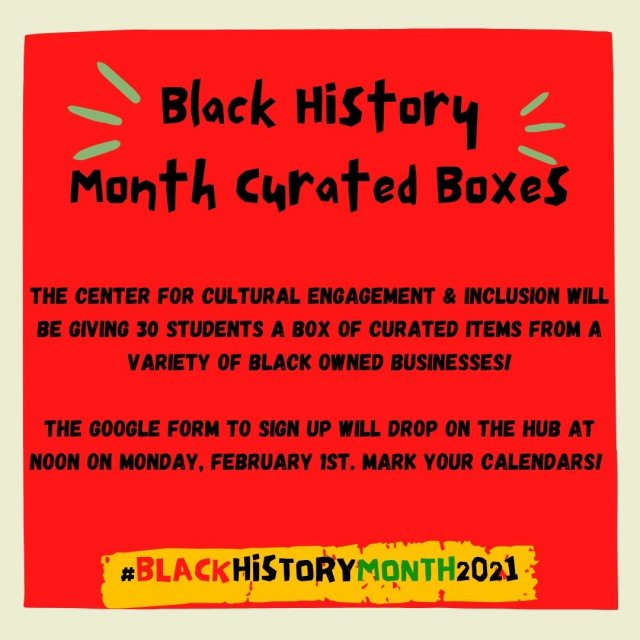CCEI Presents: Black History Month Curated Boxes