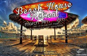 Spring Break Beach House Trip