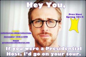 Presidential Host Spring 2014